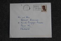 Lettre Des ETATS UNIS ( New Haven) Vers FRANCE - Cartas