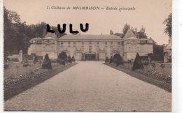 DEPT 92 : édit. F David N° 1 : Chateau De Malmaison Entrée Principale - Rueil Malmaison