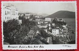 MONTENEGRO - CRNA GORA, HERCEGNOVI - POGLED SA PARKA HOTEL BOKA 1938 - Montenegro