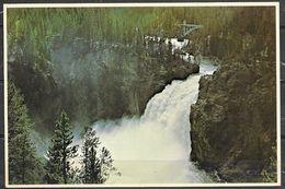 Wyoming, Yellowstone NP, Upper Falls, Unused - Yellowstone