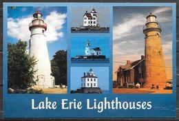 Ohio, Lake Erie Lighthouses, Multiview, Unused - United States