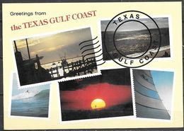 Texas, Greetings From The Texas Gulf Coast, Unused - United States