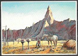 South Dakota, Wall, Wall Drug Painting, Unused - Verenigde Staten