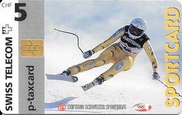Swiss Telecom: 05/97 Sportcard Ski Alpin - Schweiz