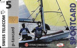 Swiss Telecom: 05/97 Sportcard Segeln - Schweiz