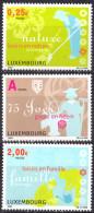 LUXEMBOURG - 75e Anniversaire De La Ligue Luxembourgeoise Du Coin De Terre Et Du Foyer - Neufs