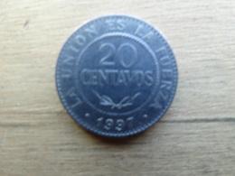 Bolivie  20  Centavos  1997  Km 203 - Bolivia