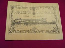APPRENTIS MECANICIENS . ECOLE DE LORIENT .promotion 1936 . 37 - Libri, Riviste & Cataloghi
