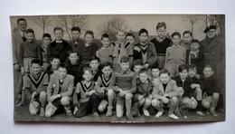 """02  - PHOTO 1969 - VERMAND - Jeunes Concurrents Au Départ Du Prix De"""" L'AISNE NOUVELLE"""" Entourés De Leurs Directeurs - Lugares"""