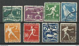 Netherlands 1928 Canc. - Usati