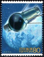 JAPAN 2004 Science, Technology And Animation - 80y OHSUMI (satellite) 2502 Conducting Polymer FU - Usados