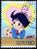 JAPAN 2004 Science, Technology And Animation - 80y Marvellous Melmo 1 FU - 1989-... Empereur Akihito (Ere Heisei)