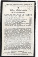 D17/ ° NINOVE 1819 + 1902 PASTOR: EREBODEGERM BERLARE LEDE WELLE NINOVE - Religion & Esotericism
