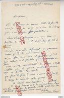 Au Plus Rapide Lettre Autographe Alphonse Karr Journaliste écrivain Français Paris Nice Saint Raphaël - Autografi