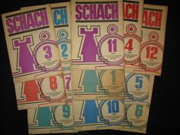 Schach. 32. Jahrgang 1978. Mit Der Nummer 1 Bis 12 Zeitschrift Des Deutschen Schachverbandes Der DDR Sportverlag Berlin - Sports