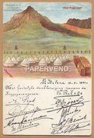 Sant Helena   Deadwood Boer Camp Artist Card Signatures Facsimile Sha24 - Saint Helena Island