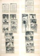 Katanga ( Lot De 20 Vignettes Privées -Jeu Complet- Neuves Sans Gomme) - Katanga