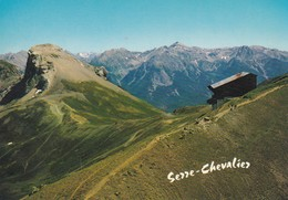 Chantemerle Arrivée Du Téléphèrique - Serre Chevalier