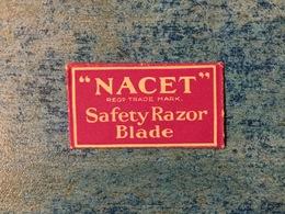 VINTAGE RAZOR BLADE NACET - Razor Blades