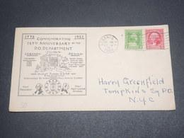 ETATS UNIS - Enveloppe Du Bicentenaire De George Washington En 1932 -  L 12626 - Event Covers