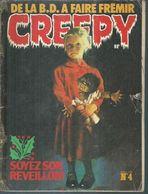 CREEPY  N° 4   -  DU TRITON  1978 - Small Size