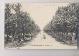 MARSEILLE - 1911 - Le Prado - TRAMWAY N° 553 - Animée - Tramways