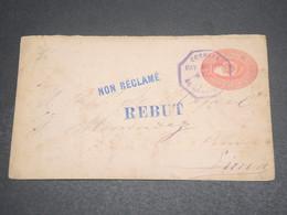 """GUATEMALA - Entier Postal  Pour Lima , Non Réclamé , Griffe  """" Rebut """" -  L 12629 - Guatemala"""