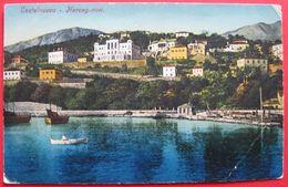 MONTENEGRO - CRNA GORA, HERCEGNOVI - CASTELNUOVO, S.M.SCHIFF POLA STAMP - Montenegro