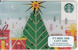 USA - Christmas, Starbucks Card, CN : 6140, Unused - Gift Cards