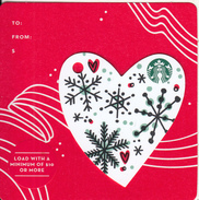 USA - Christmas, Starbucks Card, CN : 6142, Unused - Gift Cards