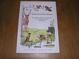 DES ANIMAUX SAUVAGES ET DOMESTIQUES DE CHAMPAGNE ARDENNE NOUS PARLENT Claude Debieuvre Illustrations Jean Pol Cordier - Poëzie