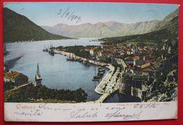 MONTENEGRO - CRNA GORA, CATTARO - PANORAMA, USED 1904 - Montenegro