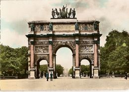 France & Circulated,Paris, Arc De Triomphe Du Carrousel,Ile D'Oleron, Roles De Alienor D'Aquitaine,  Lisboa 1960 (53) - Denkmäler