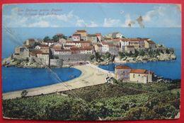 MONTENEGRO - CRNA GORA, SAN STEFANO PRESO BUDVA, ED. PURGER & CO. 13703 - Montenegro