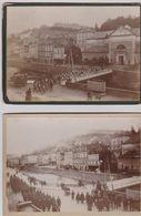 2 CARTE PHOTO DE TULLE 1899  BON ETAT + PORT - Tulle
