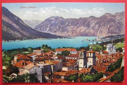 MONTENEGRO - CRNA GORA, KOTOR - CATTARO, ED. PURGER & CO. 11544 - Montenegro