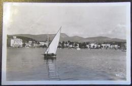 Sanay Sur Mer (Var) N°12758 - Le Port - Carte Photo Animée (voilier) Circulée Le 20 Juillet 1942 - Sanary-sur-Mer