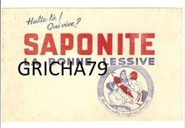 BUVARD - LESSIVE SAPONITE - Buvards, Protège-cahiers Illustrés