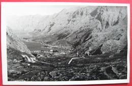 MONTENEGRO - CRNA GORA, KOTOR - PANORAMA, ORIGINAL FOTO CA. 1940 - Montenegro
