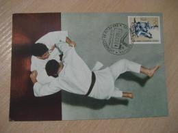 SANT FELIU DE LLOBREGAT 1964 Judo Olympic Games Olympics Tokyo Maxi Maximum Card SPAIN - Judo