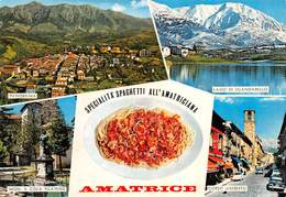 Cartolina Amatrice Vedutine - Rieti