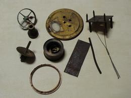 Horlogerie Vintage Barillet Complet Et Diverses Pièces En L'état - Gioielli & Orologeria