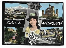 SALUTI DA MONDOVI  VIAGGIATA FG - Cuneo