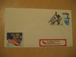 LIBBY 1999 Xtreme Sports Ski Skiing Cancel Cover USA - Ski