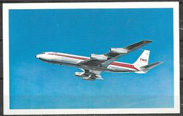 TWA Air Lines, Boeing -707 (?) Unused - 1946-....: Modern Era