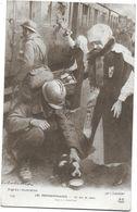 CROIX-ROUGE -LES PERMISSIONNAIRES -Un Peu De Rabiot -INFIRMIERES DISTRIBUANT LAIT Et  PAIN Par SABATTIER/Illustration - Croix-Rouge