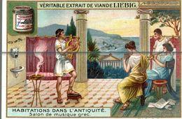 LIEBIG  HABITATION DANS L ANTIQUITE - Liebig