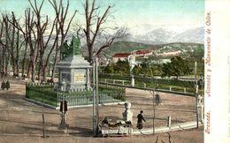 GRANADA. ALAMEDA Y MONUMENTO A COLÓN. PURGER. - Granada