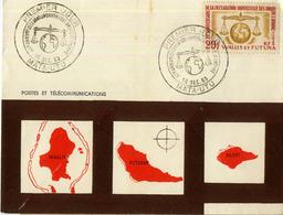 WALLIS ET FUTUNA DROITS DE L'HOMME 1ER JOUR FDC 1963 - Covers & Documents