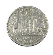 1 Florin - Australie - 1946 - Argent - TB+ - - Monnaie Pré-décimale (1910-1965)
